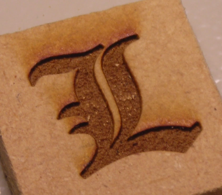 how to engrave wood